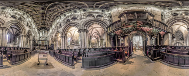 Highly Commended -  Around The Abbey - Peter Newman