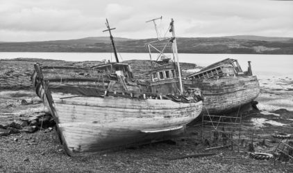 Highly Commended - Decaying Trawlers - Pat Burns